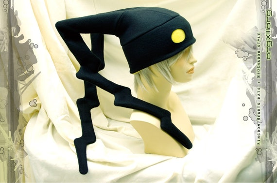 Kingdom Hearts Heartless Hat - NEO-Shadow - cosplay hats by orgXIIIorg - Made to Order