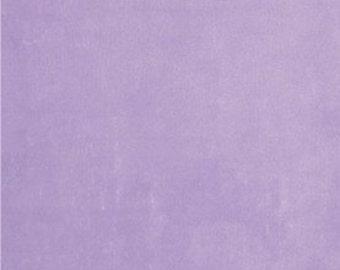 Smooth Minky (Minkee) in Lavender Purple - smooth minky (minkee) in lavender purple