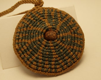 Earthy Spiral Necklace