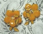 Vintage Coro Flower Earrings (Sale Were 8.00)
