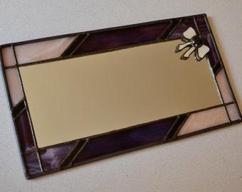 Pretty as a bow mirror by YafitGlass