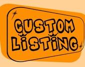 Custom Order - Humanidad package - do not buy