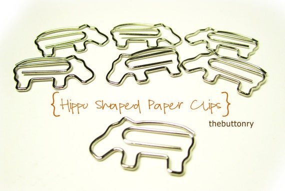 Paperclips - Hippo