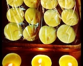 Chai Scented Organic Soy Tea-lights