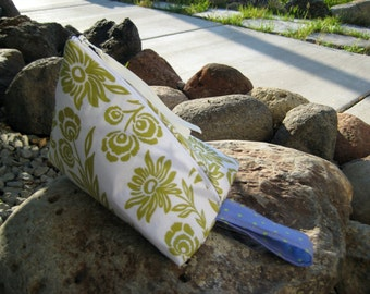 The Wedge Clutch Pouch Fabric by Amy Butler