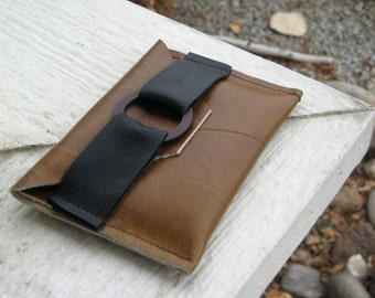 Leather Wallet - Brown leather Wallet