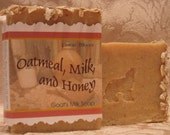 RESERVED  Oatmeal, Milk, and Honey Goat's Milk Soap