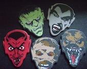 5 creepy monster guitar picks