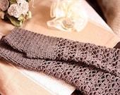 Instant download - Crochet PATTERN (pdf file) -Melange fingerless gloves