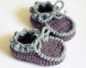 Instant download - Baby Booties Crochet PATTERN (pdf file) - Everyday Baby Moccasins