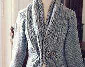 Instant download - Crochet PATTERN (pdf file) - Ladies' Shrug - Cardigan