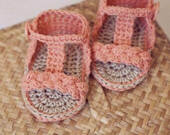 Crochet PATTERN - Braided Gladiator Sandals