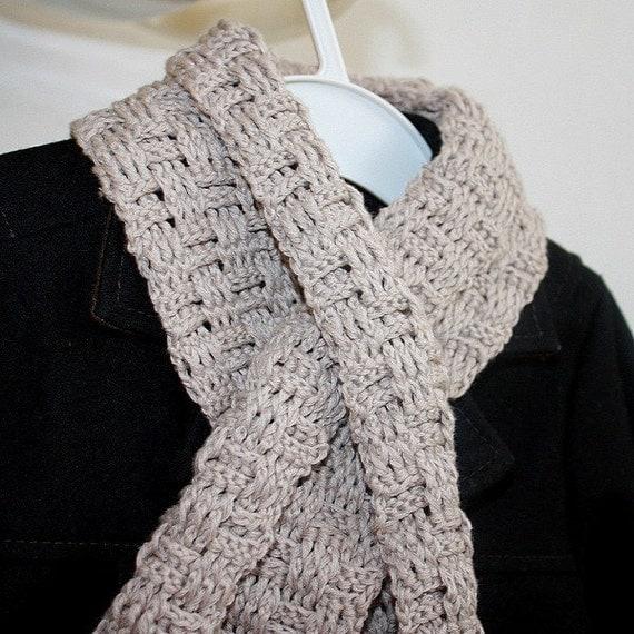 Crochet Pattern Baby Scarf : Crochet PATTERN pdf file Baby Boy scarf