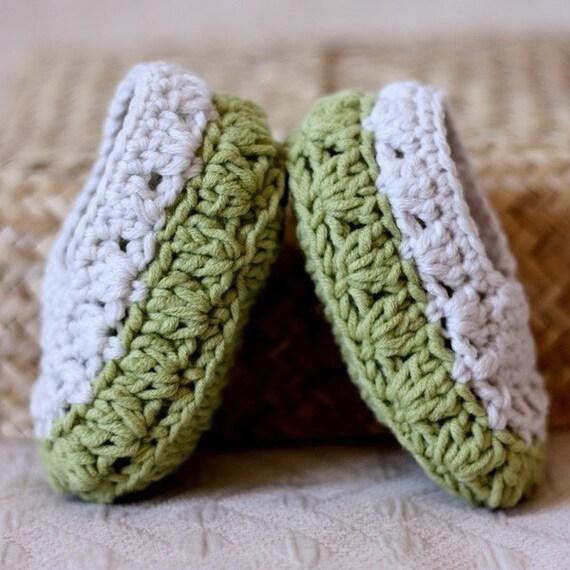 Crochet PATTERN - Sorrento Slippers