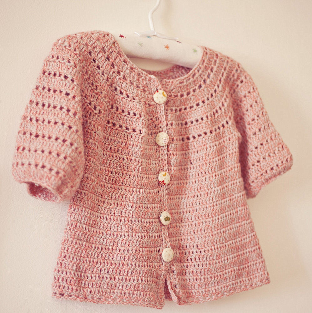 Instant download Crochet Cardigan PATTERN pdf by