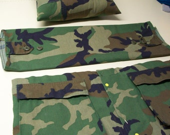 TAPS Military Memorial Pillows by Stuffed Linens Custom Made