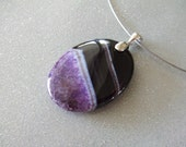 Reserved for MaryEllen JAMAICA PLUM Reversable - Agate Stone Collection