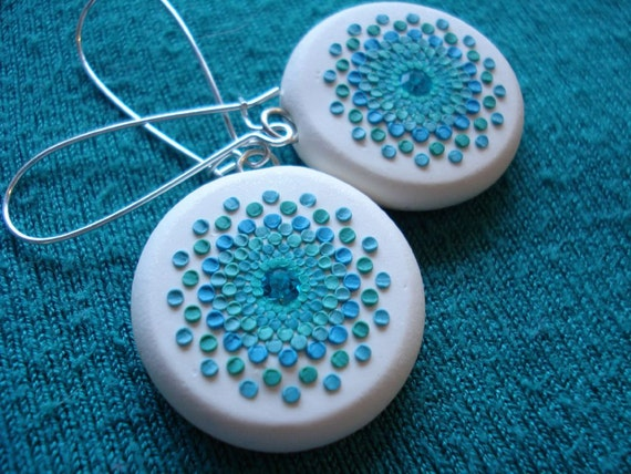 ocean light earrings