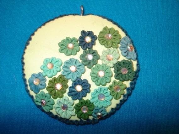 crystal garden pendant