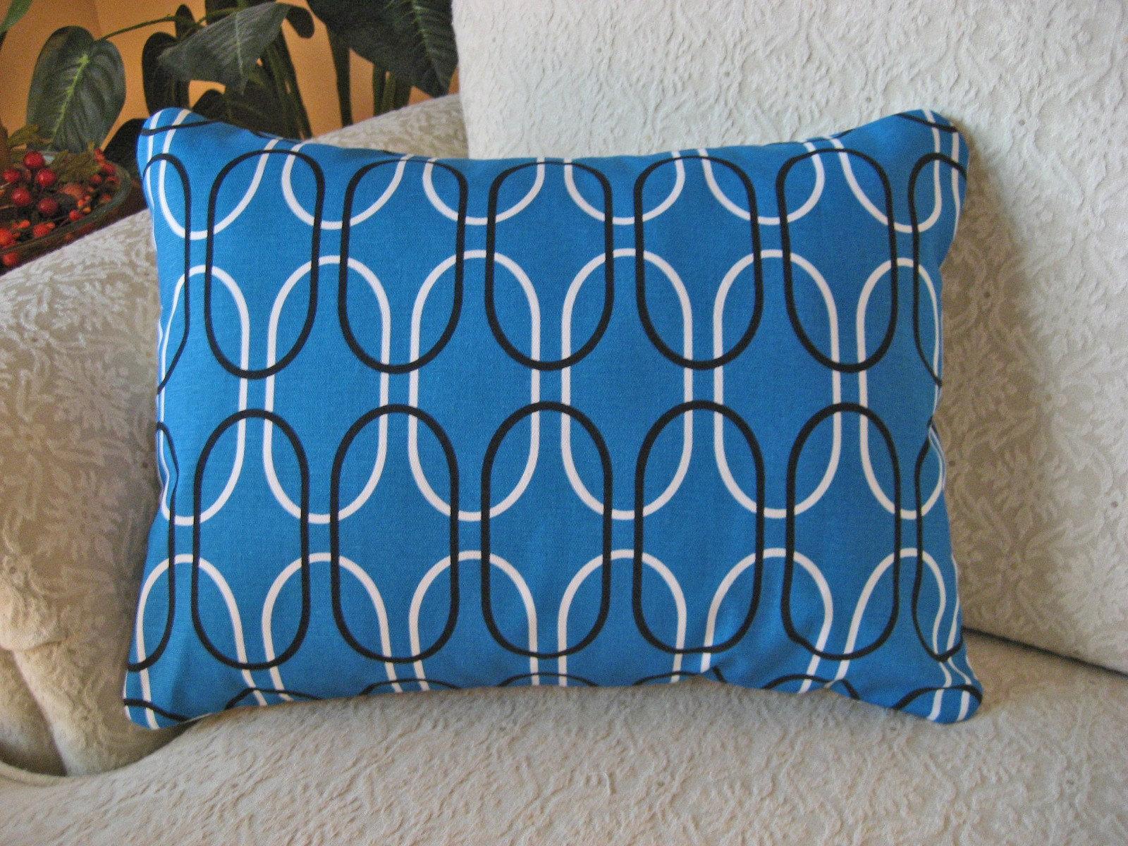 Ocean Blue Decorative Pillows : Decorative Throw Pillow Cover Ocean Blue 12 x 16 Shiba