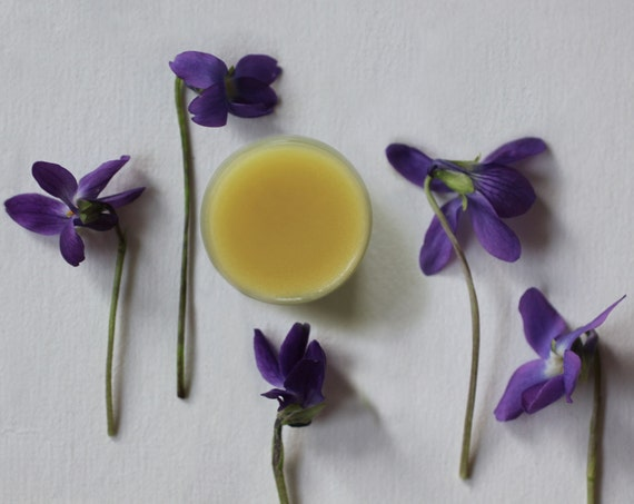 Gracing the Dawn Natural Perfume Solid, 5 grams by weight - Ethereal, exotic floral - Soft, sheer impression of violets