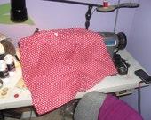 Reserved Red Pajama Shorts Polka Dot
