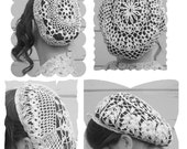 Four Snood PDF Patterns - Floral Collection