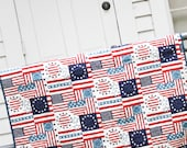Patriotic Whole Cloth Quilt