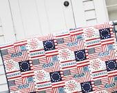 Americana Whole Cloth Quilt