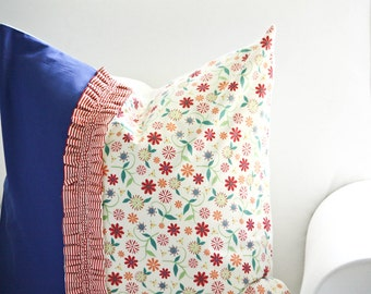 SALE - Carnival Throw Pillow Cover