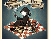 Death's Day Off Picture Book