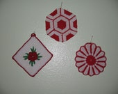 Vintage Country Pot Holders