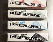 GOCCO Ink For Cloth Set of 4