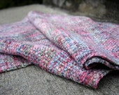 January Rose Handwoven Scarf