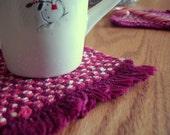 Candy Twist Roaster Coaster Mug Mat Set of Two