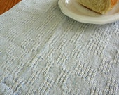 Small Blue Handwoven Kitchen Towel