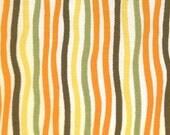 Halloween Fabric Pumpkins Gone Wild Skinny Stripes Fat Quarter