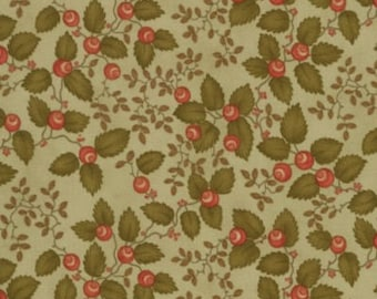 Christmas Fabric Cranberry Fat Quarter by Three Sisters