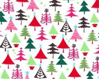 Christmas Fabric  Michael Miller Tiny Trees Fat Quarter