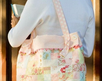 Tote Bag Pattern by Bunny Hill Designs Darned Cute Bag