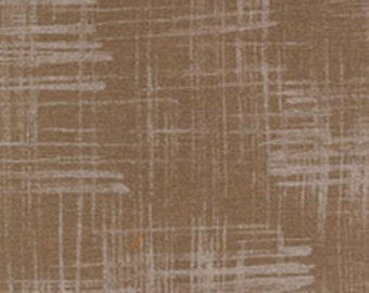 Laura Gunn Fabric Painters Canvas in Brown 1/2 Yard