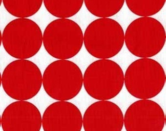 Christmas Fabric Michael Miller Disco Dot in Red Fat Quarter