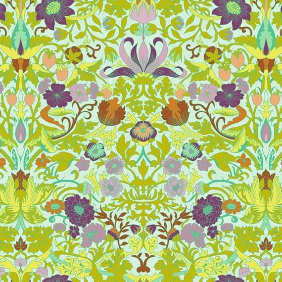 Studio E Fabric Gabrielle Lotus Fabric in Light Teal