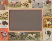 POINTER / Dog FRAME / Vintage Art / Gift / English / Photo Picture