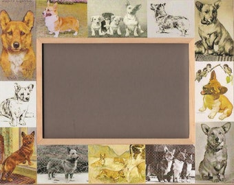 Pembroke Welsh Corgi / Dog Picture Frame / Unusual Gifts / Photo - 1