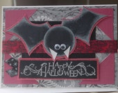 Going batty halloween Card and Envelope