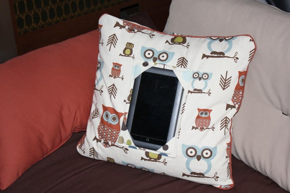 EReader NOOK PILLOW for your Comfort You DESIGN