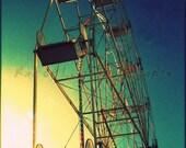 Ferris Wheel Sunset - 4x6 Etsy Original Art Photography Print