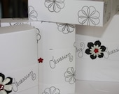 Large Favor Box (custom order for AJewelryObsession) Set of 4