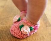 Instant Download - Crochet Pattern - Jane Marie Booties (Newborn to 12 mo.)